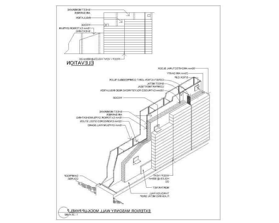 Qu'est-ce qu'un mur maçonné ?